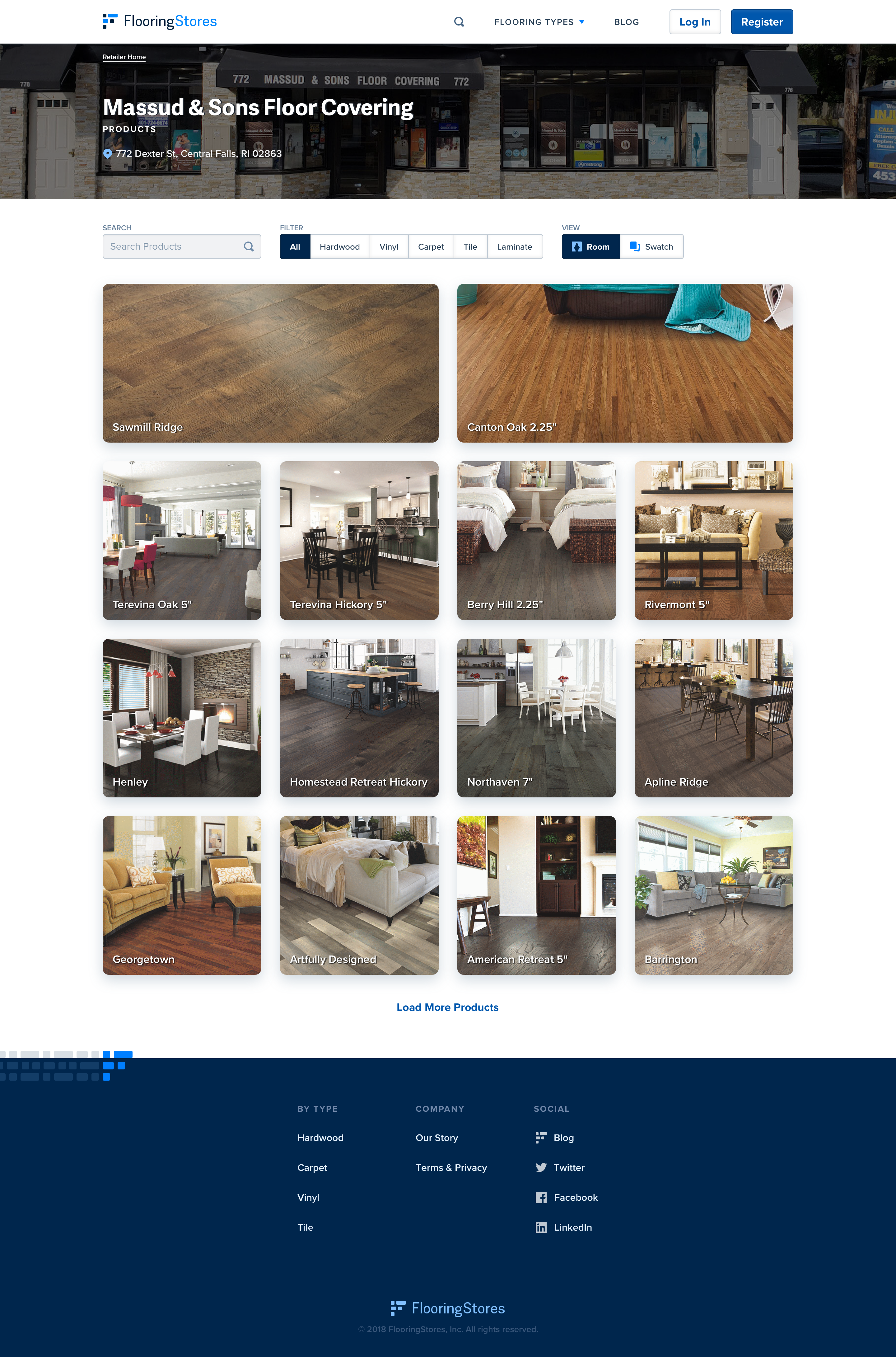 Comprehensive Flooring Product Research & Data